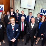 XXjob 29/09/2015 PROPERTY Members of the DNG Regional Auctions team at the public auction of properties, Clarion Hotel, Cork City. Picture: Denis Scannell